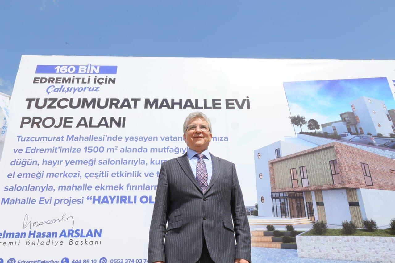 Başkan Arslan Seçim Vaadlerini Hayata Geçiriyor