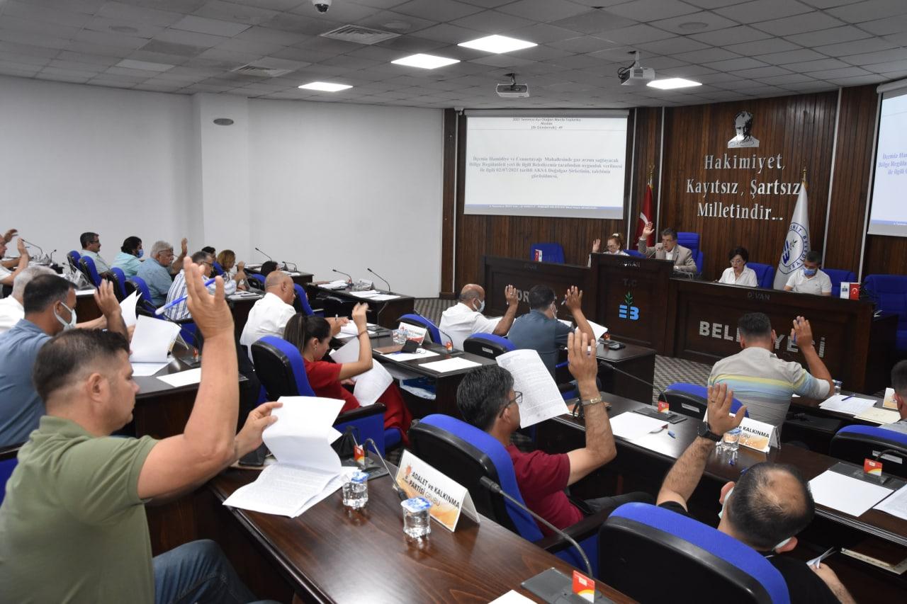 Edremit'te Temmuz Ayı Meclisi Gerçekleşti