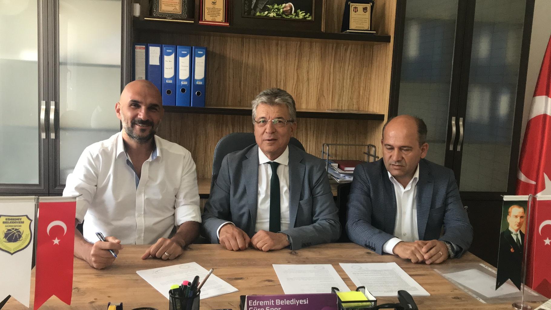 Edremit Belediyesi Gürespor'da Kaan Artun Dönemi